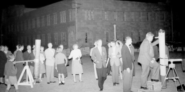 1960 & 1961 ASQ field nights at the University of Qld and Balmoral State High School 1