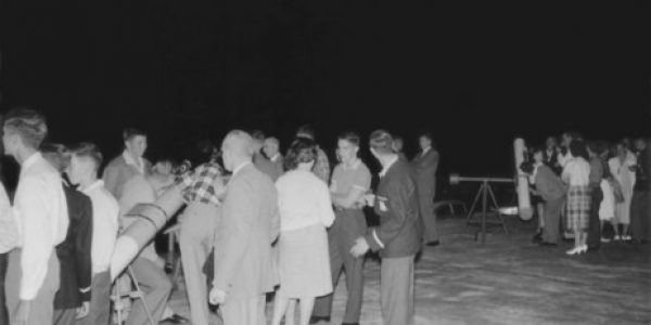 1960 & 1961 ASQ field nights at the University of Qld and Balmoral State High School 2