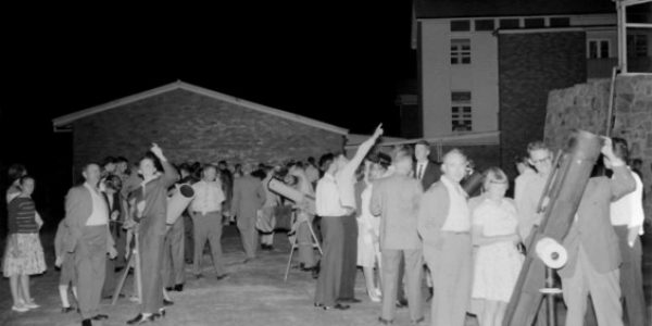 1960 & 1961 ASQ field nights at the University of Qld and Balmoral State High School 3