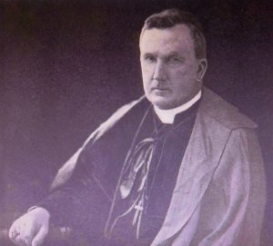 Archbishop (Sir) James Duhig from 1924 Nudgee College 'Annual'