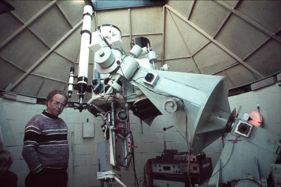 Arthur Page Tamborine Observatory 1981