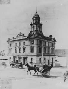 12. Old Fire Brigade Building Ann Street 1891. –State Library Qld.