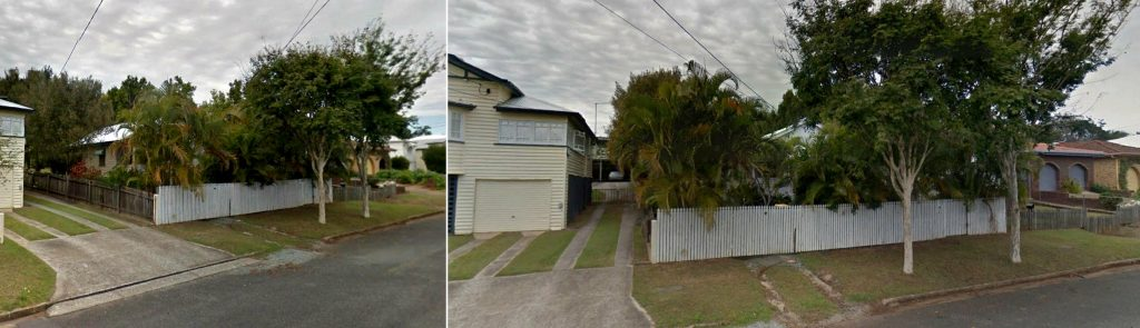 Images of 'Vort Hem' location 97 William/Wade Street Virginia. (Google Street view - Sept 2015.)