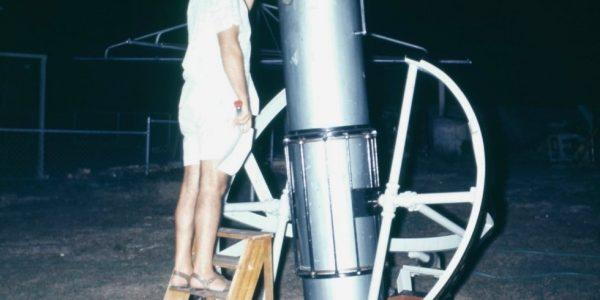 """John Davies' 16"""" F5.5 reflector – 1969"""