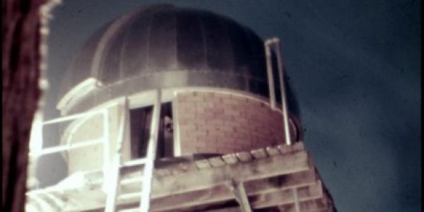 Wal Best's tower observatory at Bardon – 1974