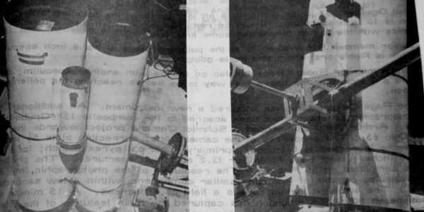 """Werner Stege – Images of the 18""""Wright Camera (FL 65""""), 12"""" F5, and 6"""" F5 guide 'Astroquest' April-May 1966"""