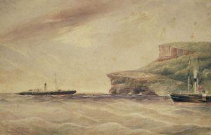Wreck of the ASN Co. Steamer 'Telegraph' 1867