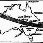 General Relativity in Australian Newspapers: The 1919 and 1922 Solar Eclipse Expeditions